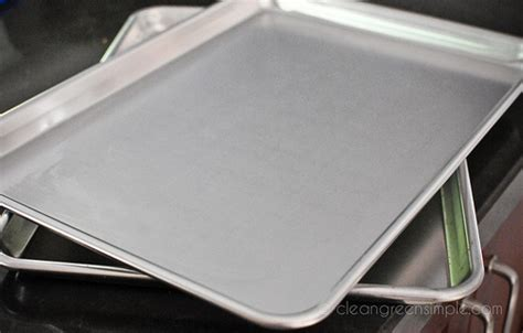 Simple Tip Use Two Cookie Sheets by Greener Every Week Replace Your Nonstick Cookie Sheets