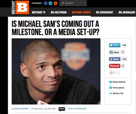 Michael Sam Meme - ben quot friends of hamas quot shapiro asks quot is michael sam s coming out a milestone or a media set up