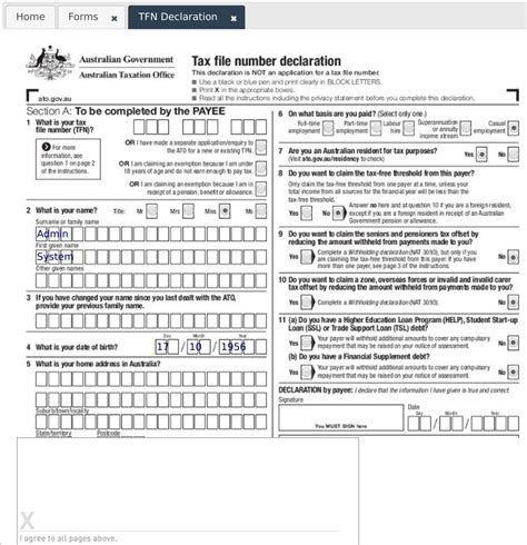 tax declaration form download 2016 pretty declaration form template contemporary exles