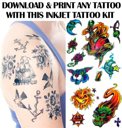 bewild temporary tattoo pen kit print your own temporary tattoo kit