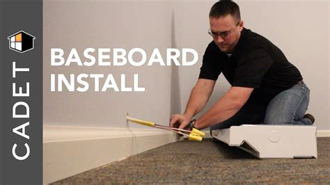 how to install a cadet electric baseboard heater cadet