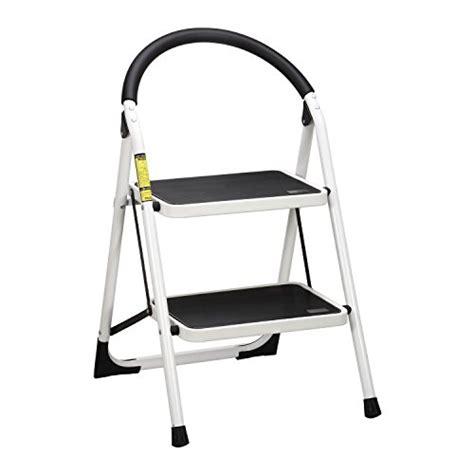 heavy duty folding 2 step stool ollieroo en131 heavy duty folding 2 step ladder stool with