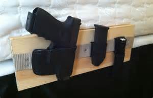 How To Carry A Mattress By Yourself diy bedside holster system prepper resources the