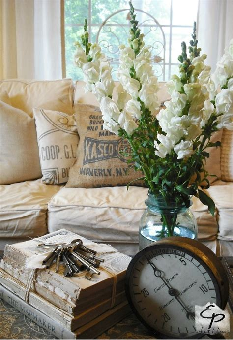 Rustic Shabby Chic Home Decor by Living Room Whitewashed Cottage Chippy Shabby Chic French