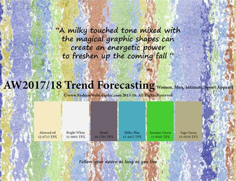 autumn winter 2018 2019 trend forecasting is a trend color autumn winter 2017 2018 trend forecasting is a trend color