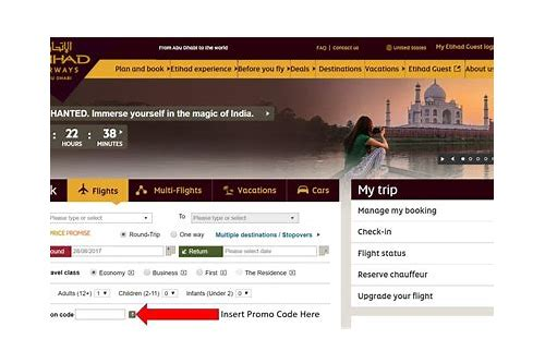 etihad airways discount coupon codes