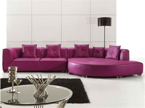 Purple Leather Sofas Furniture Purple Leather Sectional Sofas For Your Room With Black Carpet Purple Leather