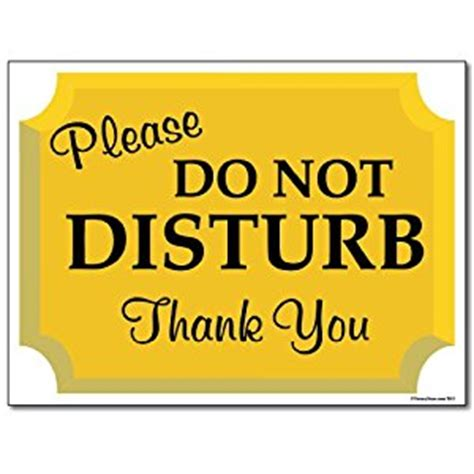 Best Software For Kitchen Design by 18 Quot X 24 Quot Corrugated Plastic Sign Do Not Disturb Sign