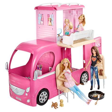 Camping Car Duplex Barbie Mattel : King Jouet, Accessoires