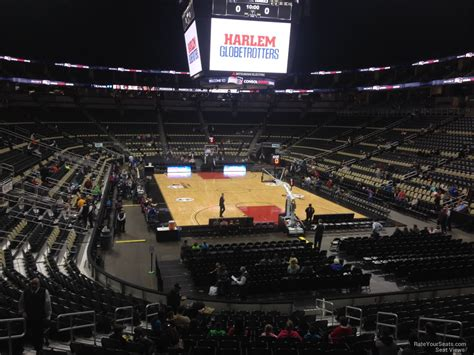 section 119 consol energy center ppg paints arena section 119 basketball seating