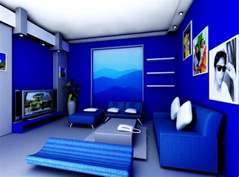 desain interior ruang tamu warna biru gallery of kontentika desain cat warna biru paduan