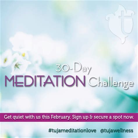 meditation challenges tuja wellness is offering a free 30 day meditation