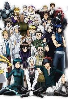 D Gray Man Wikipedia Characters | list of d gray man characters wikipedia