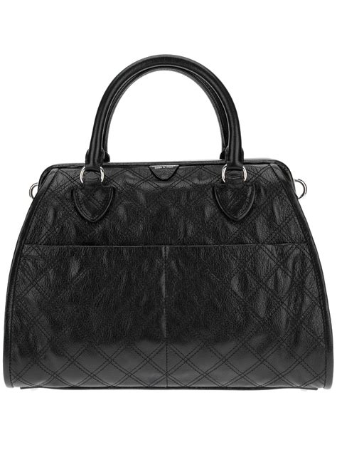 Marc Large Quilted Tote by Marc Quilted Tote Bag In Black Lyst