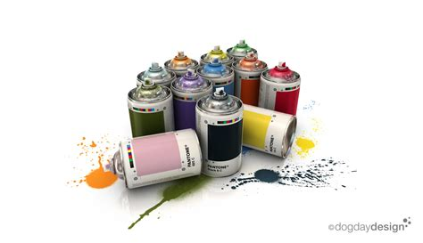 pantone paint cans pantone spray cans by cartesius on deviantart