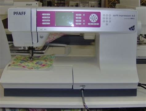 Pfaff Quilt Expression 4 0 by Pfaff Quilt Expression 4 0 Review Sewing Insight