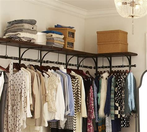 Shelf Clothes Rack by New York Shelf And Clothes Rack Modern Closet Storage