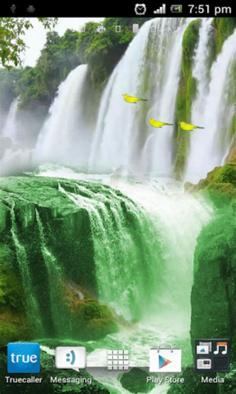 waterfall   wallpaper apk   android