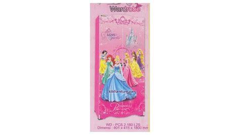 Lemari Anak Kea Panel lemari pakaian anak princess 2 pintu kea panel