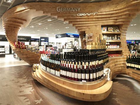 retail store layout design and display heinemann duty free shop frankfurt airport e architect