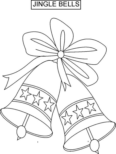jingle bells lyrics coloring pages