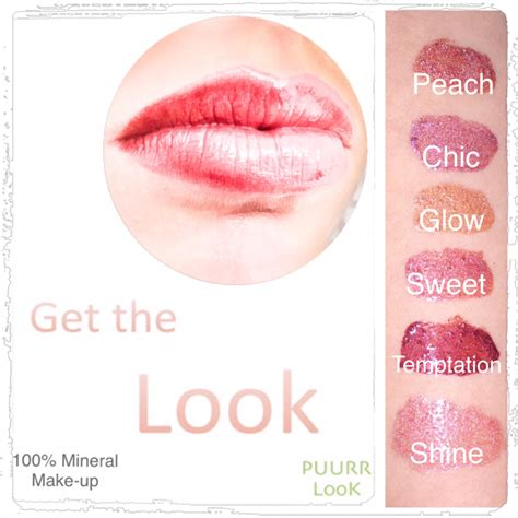 lipgloss chic puurr look mineral make up