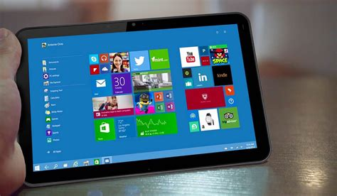 Tablet Windows 10 windows 10 mogelijk laatste windows versie tablets magazine