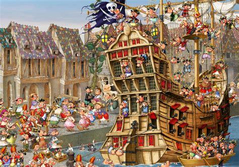 francois ruyer piraten  teile grafika puzzle
