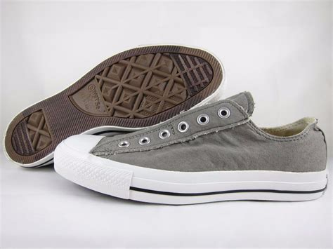Hdt Shoes Converse All Low Grey Box converse all slip on ox low chuck charcoal