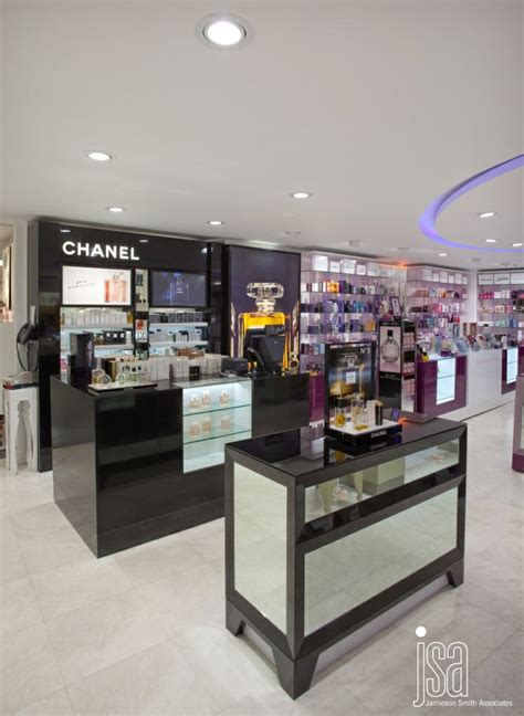 Eyeliner The Shop barkers cosmetics retail design design and build by