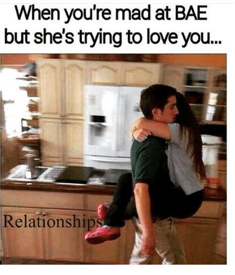 I Love You Bae Meme - funny mad and bae memes of 2017 on sizzle