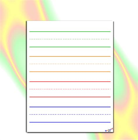 printable lined paper noshot info