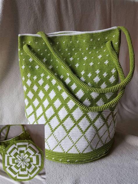 crochet tapestry bag pattern 618 best crochet bags mochilas images on pinterest