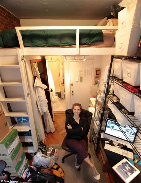 40 square feet would you be able to live in a 40 sq ft apartment here