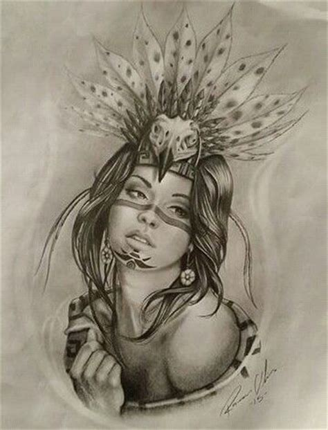 aztec princess tattoo designs 25 best ideas about azteca on mayan