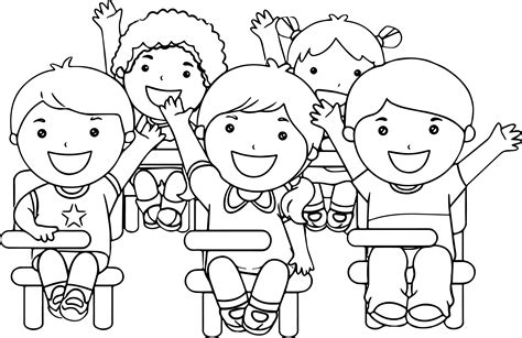 Student Coloring Pages School Coloring Pages Coloringsuite Com