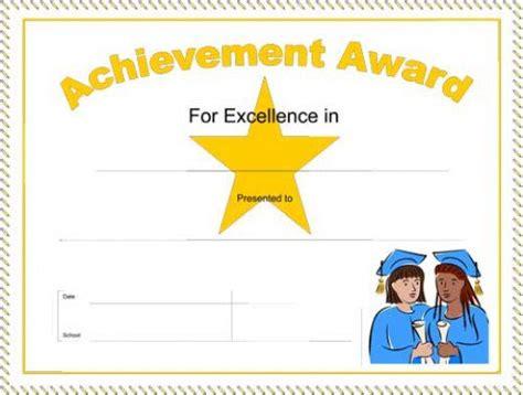 sample award certificate contribution award certificate template