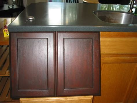 Gel Stains For Kitchen Cabinets general finishes gel stain brown mahogany bathrooms