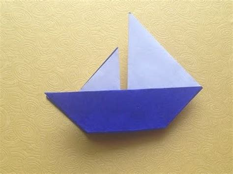 Paper Origami For Beginners - origami easy boat origami for beginner origami easy