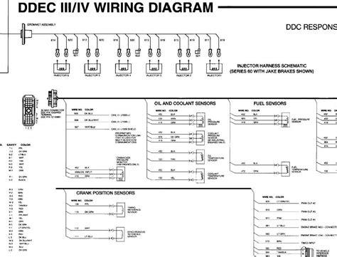 ddec ii iv wiring diagram
