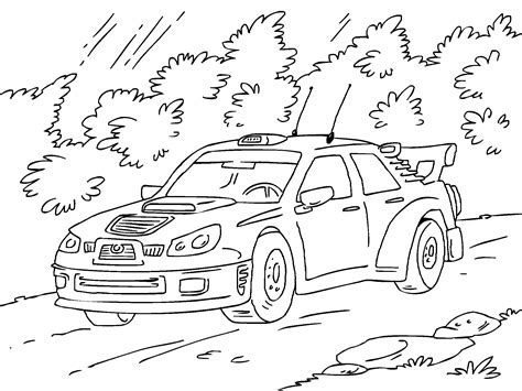 coloring pages of rally cars free rally cars coloring pages