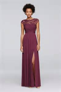 wine colored lace dress best 25 wine bridesmaid dresses ideas on