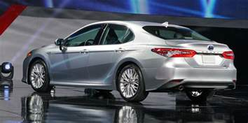 Toyota Camry 2018 Toyota Camry Revealed Japan Built Sedan In