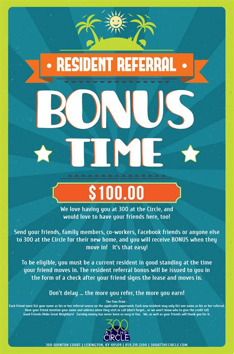 referral flyer template 500 resident referral flyers