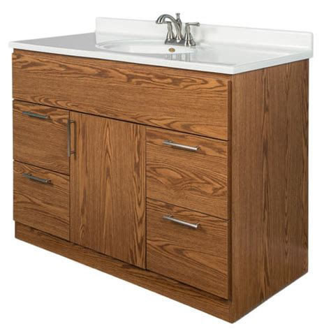 dakota collection 48 quot x 21 quot vanity base at menards 174