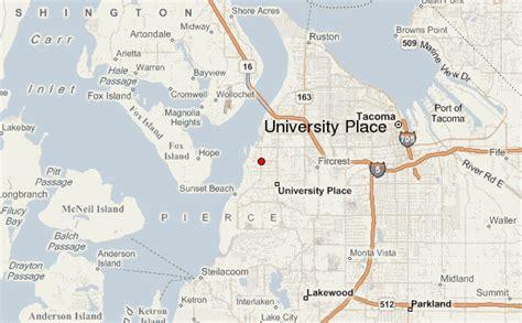 A Place Location Place Washington Map