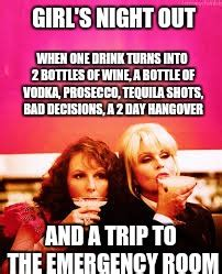 Girls Night Out Meme - image tagged in girls night out imgflip