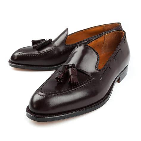 cordovan tassel loafers alden 8 cordovan tassel loafer frans boone store