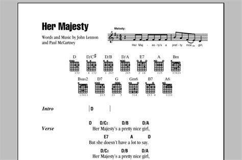 Her Majesty Guitar Chords