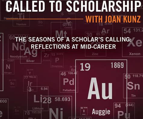 Augsburg College Mba Rankings by Called To Scholarship With Joan Kunz Bernhard